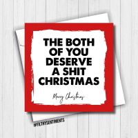 BOTH OF YOU CHRISTMAS CARD - FS668