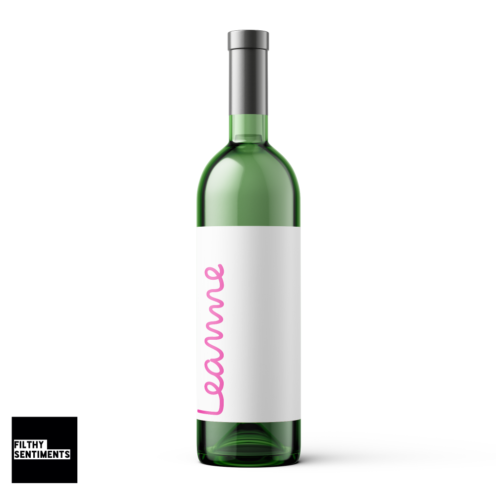 LOVE ISLAND PERSONALISED WINE BOTTLE LABEL - WBL021