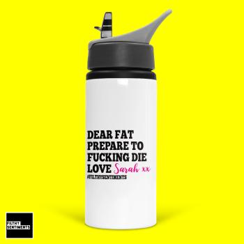 PERSONALISED DEAR FAT WATER BOTTLE - BOT3