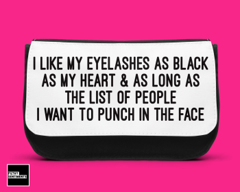 EYELASHES MAKE UP BAG D00020