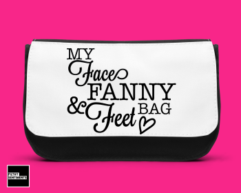 Face, fanny & feet make up bag D00021