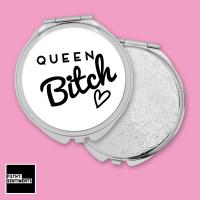 Queen Bitch pocket mirror - F00044