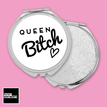Queen Bitch pocket mirror - F00044