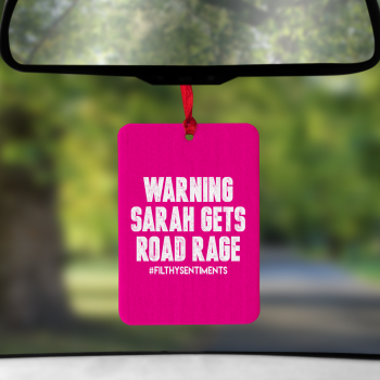Air Freshener Road Rage Pink - AIR0016