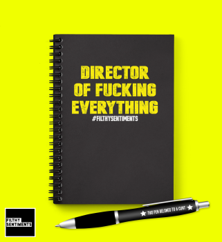 DIRECTOR OF EVERYTHING NOTEBOOK - N022