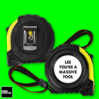 YOU ARE PERSONALISED TAPE MEASURE - TAPE001