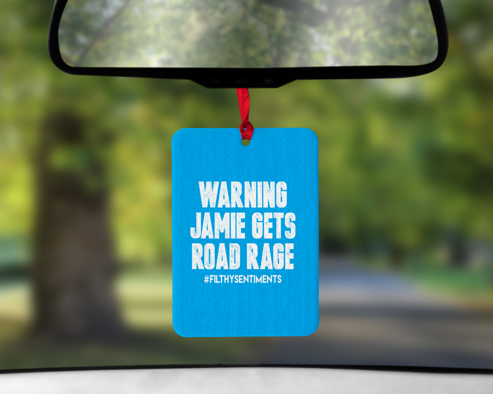 Air Freshener Road Rage Blue - AIR0017