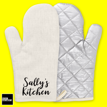 PERSONALISED KITCHEN OVEN GLOVE - OG004