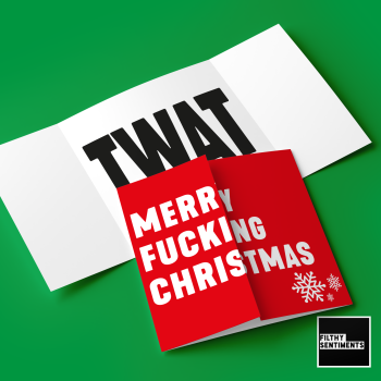 HIDDEN MESSAGE MERRY FUCKING CHRISTMAS TWAT - FS671