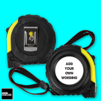 ADD YOUR OWN WORDING TAPE MEASURE - TAPE003