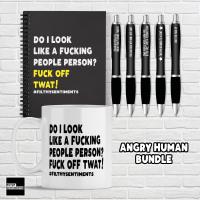ANGRY HUMAN BUNDLE! D0017