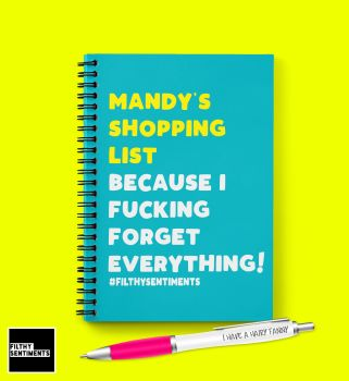 SHOPPING LIST NOTEBOOK - N030