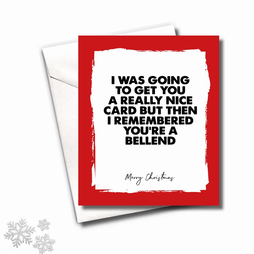 MINI BELLEND CHRISTMAS CARD PACK - FS665 (MINI)