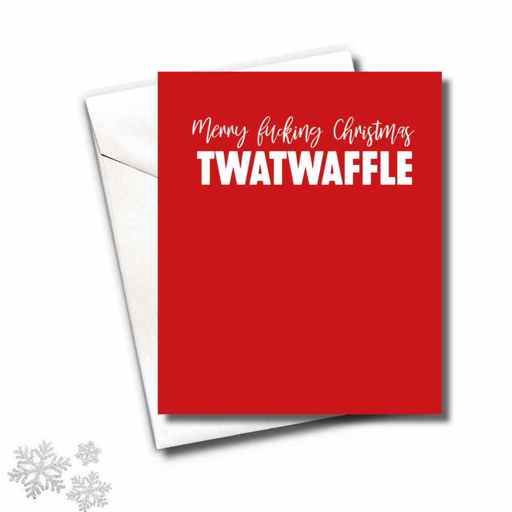 MINI TWATWAFFLE CHRISTMAS CARD PACK - FS818 (MINI)