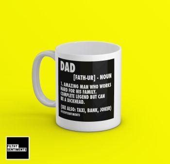 DAD NOUN MUG - M085