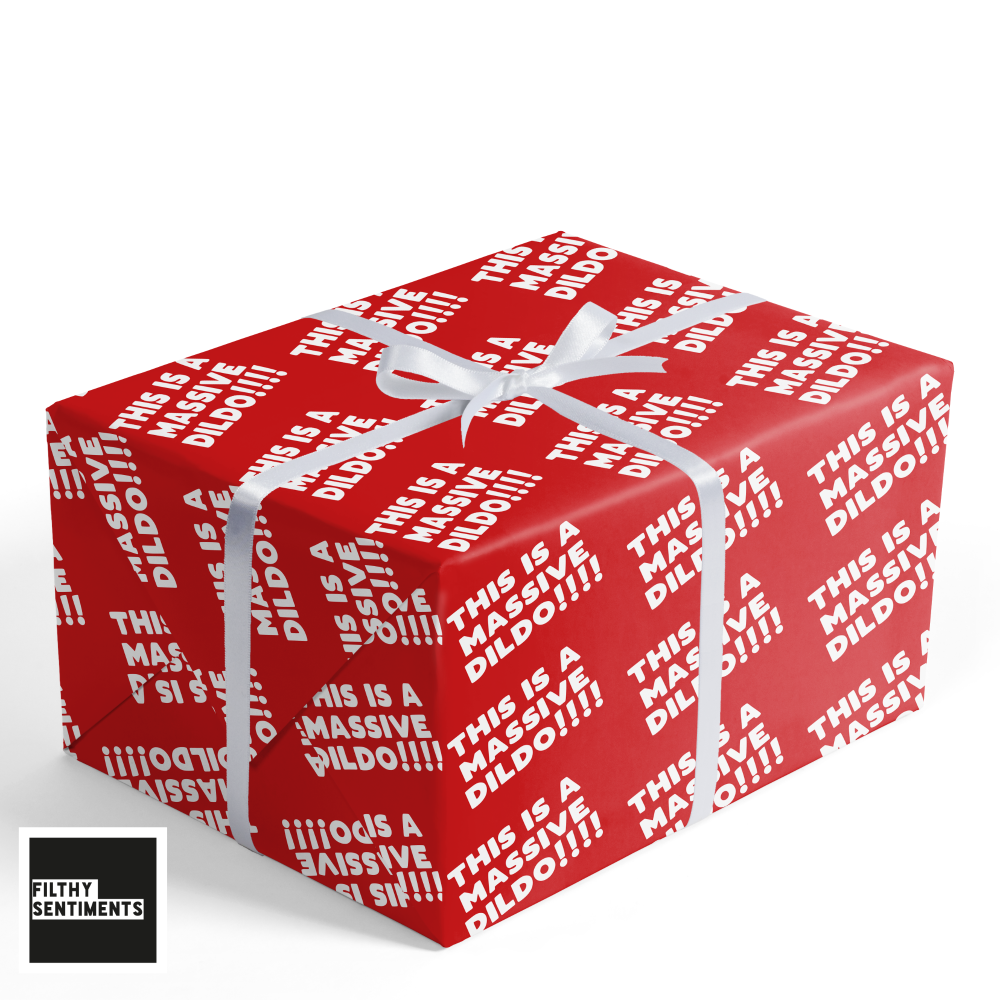 DILDO WRAPPING PAPER