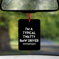 BLACK TWATTY  DRIVER - AIR FRESHENER - AIR0019