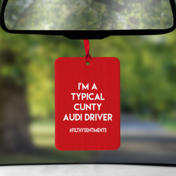 RED CUNTY DRIVER - AIR FRESHENER - AIR0020