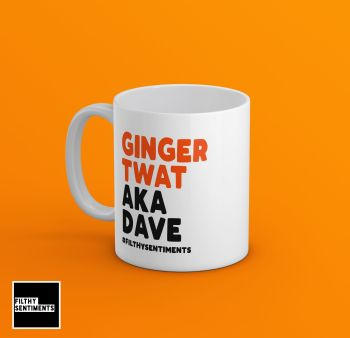 GINGER AKA PERSONALISED MUG - 224