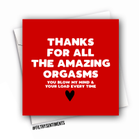 ORGASMS CARD - FS1005/ B0078