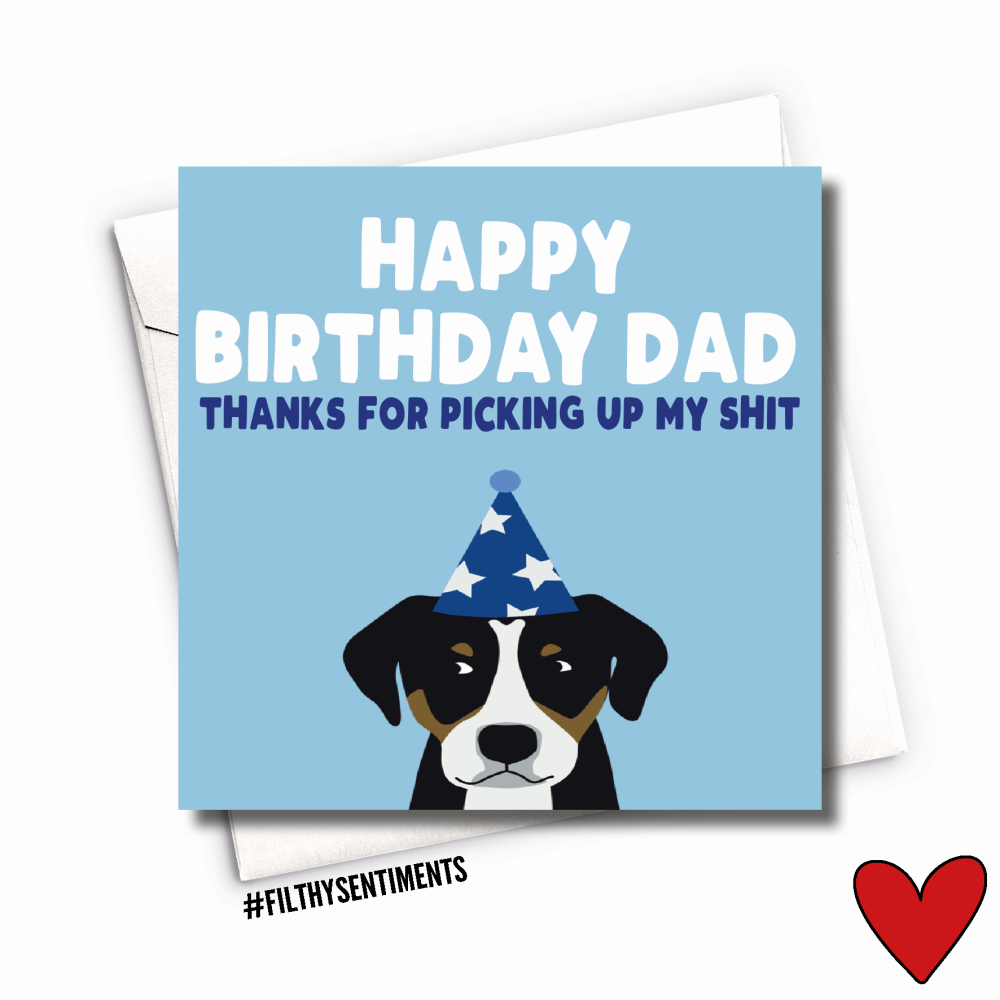 DAD POO CARD - FS1012