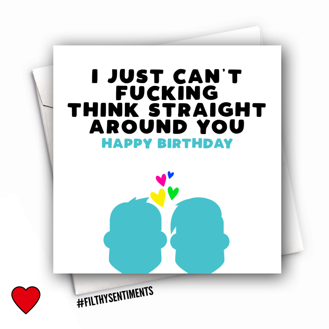 GAY COUPLE BIRTHDAY CARD - FS1018