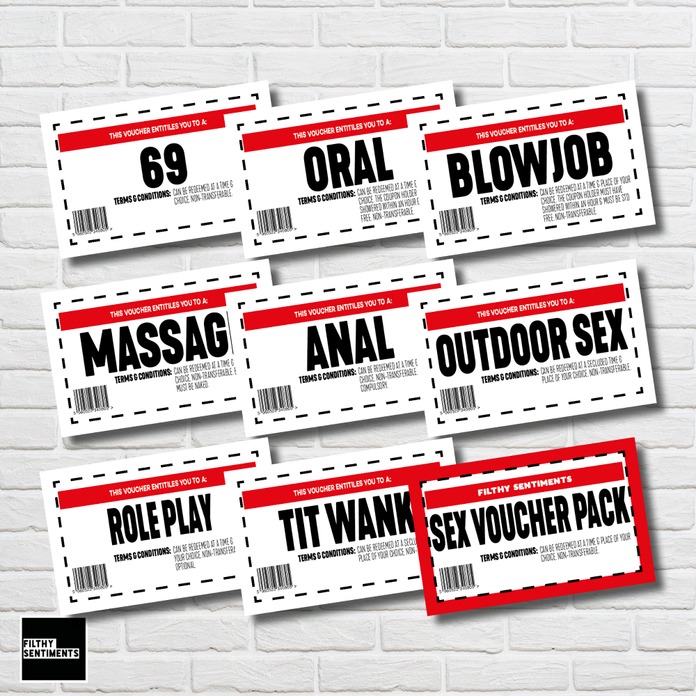 MINI SEX VOUCHERS