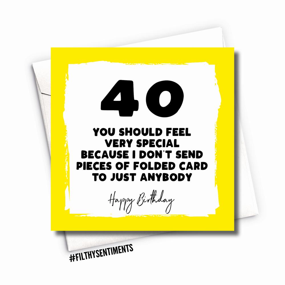 40 FOLDED CARD - FS1025