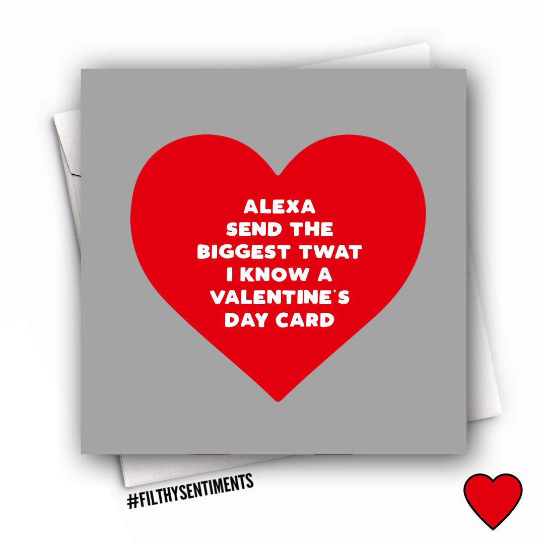 ALEXA VALENTINES CARD - FS1021