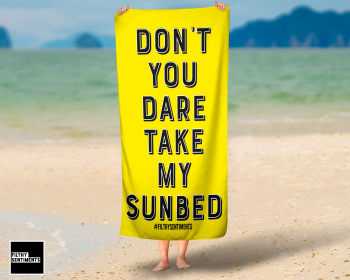 DON'T YOU DARE YELLOWTOWEL / K028