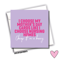 MOTHER'S DAY NURSING HOME CARD - FS1068