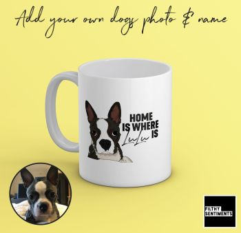PERSONALISED PET HOME MUG
