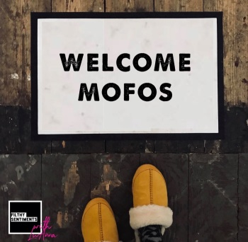 LuAnna WELCOME MOFO DOOR MAT