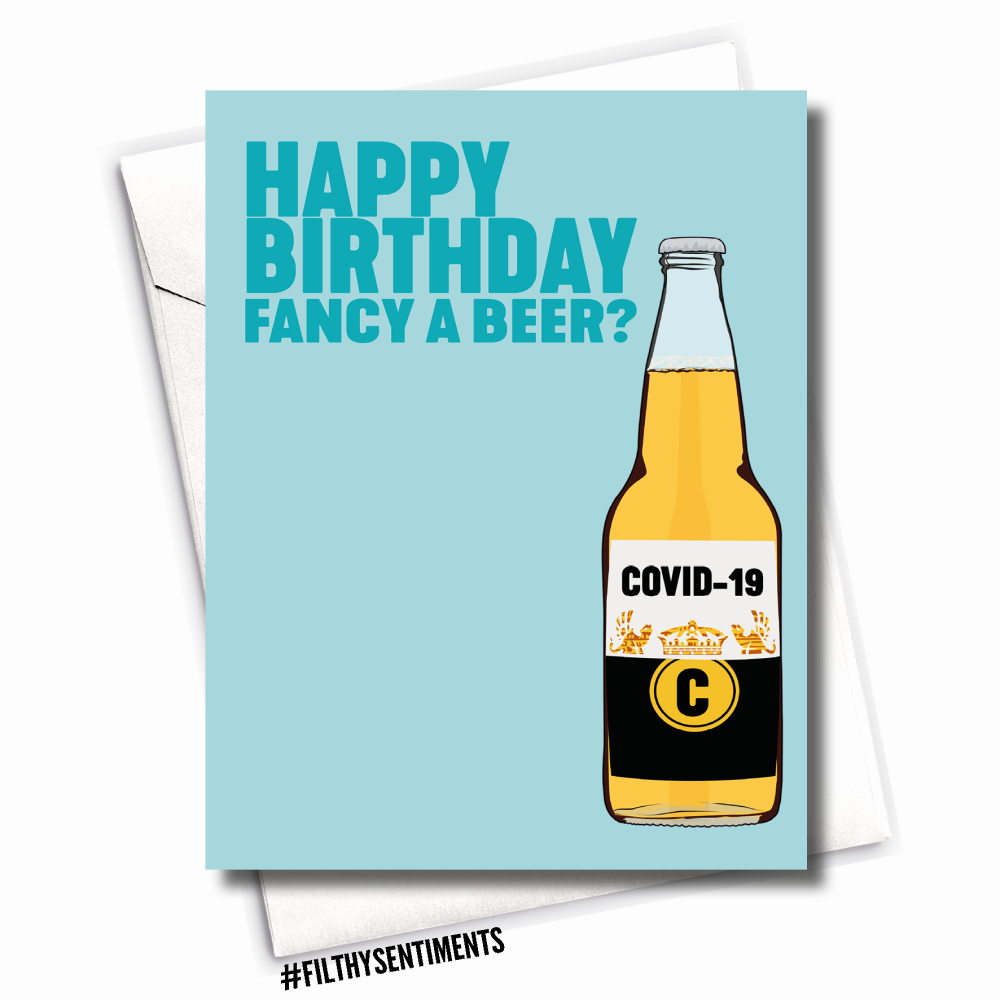 OFFENSIVE CUNT CARD | RUDE BIRTHDAY CARD | FILTHY SENTIMENTS