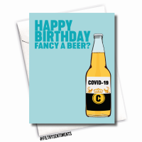 CORONA BEER BIRTHDAY CARD - FS1089
