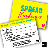 A CORONAVIRUS KINDNESS POST CARD PACK