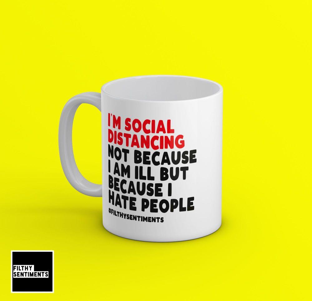 SOCIAL DISTANCING MUG - 239