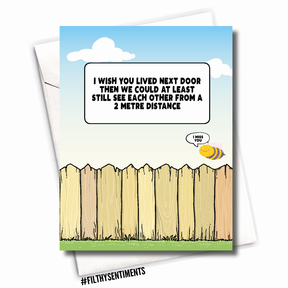 FENCE FRIEND CARD - FS1113