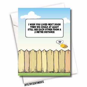 FENCE FRIEND CARD - FS1113