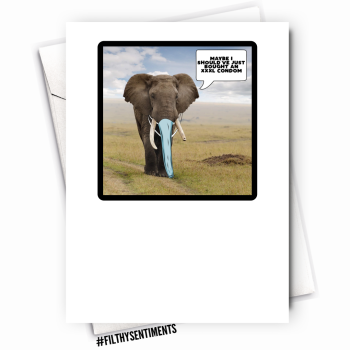 ELEPHANT CARD - FS1122