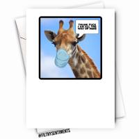 GIRAFFE CARD - FS1126