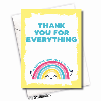 THANK YOU RAINBOW CARD - FS1129