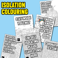 CORONAVIRUS COLOURING ACTIVITY PACK - E07