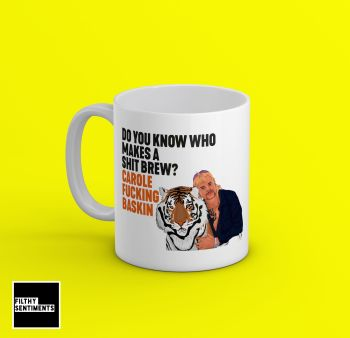 TIGERKING JOE EXOTIC SHIT BREW MUG - 242O