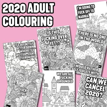 2020 VERSION 2 COLOURING ACTIVITY PACK