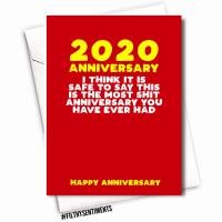 MOST SHIT ANNIVERSARY CARD  - FS1138