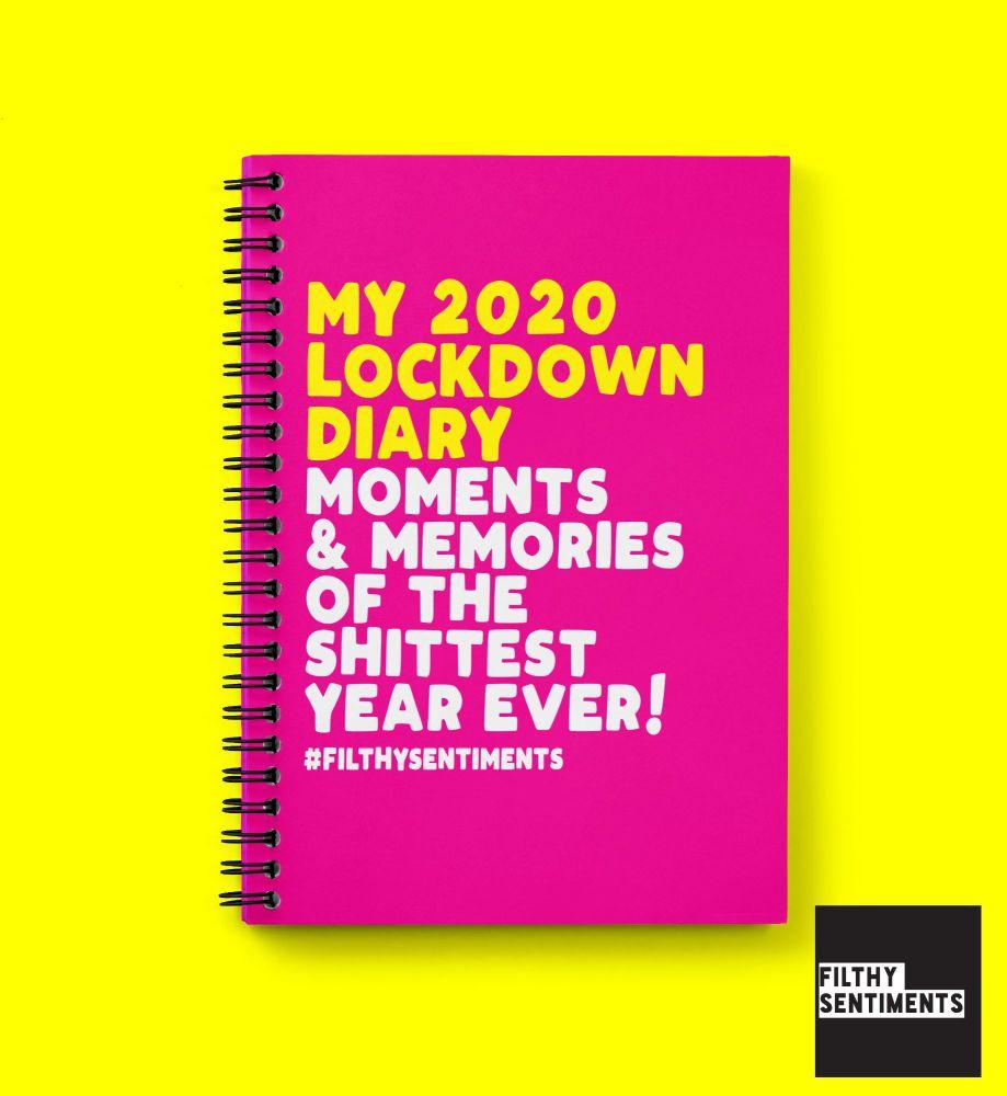 MY LOCKDOWN DIARY NOTEBOOK N035
