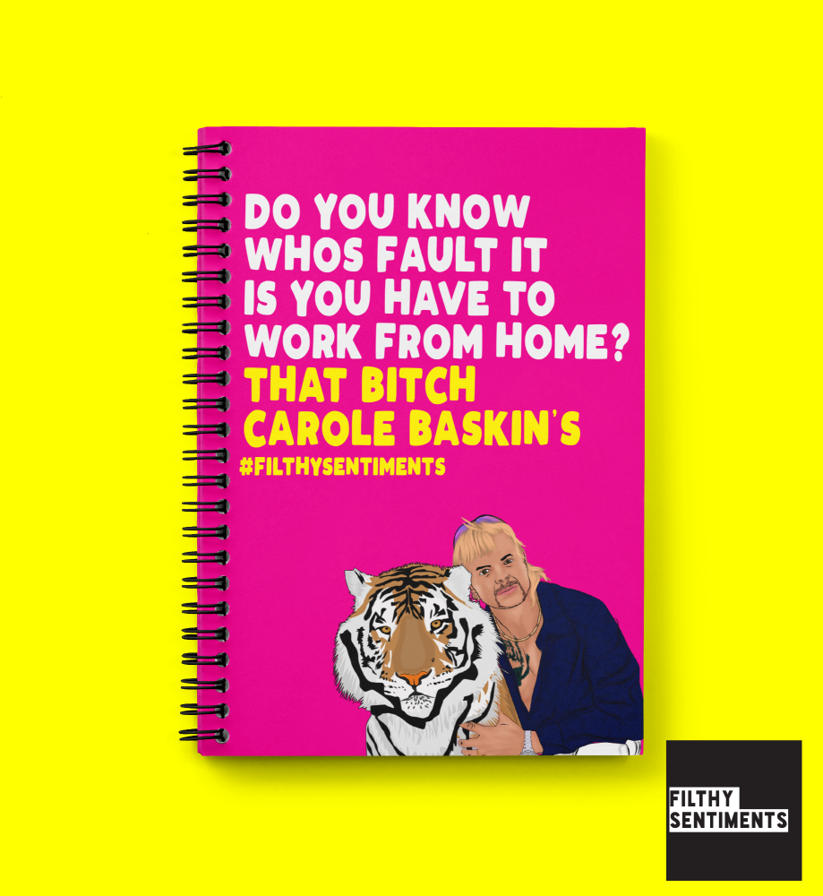 TIGERKING WORK FROM HOME NOTEBOOK N036