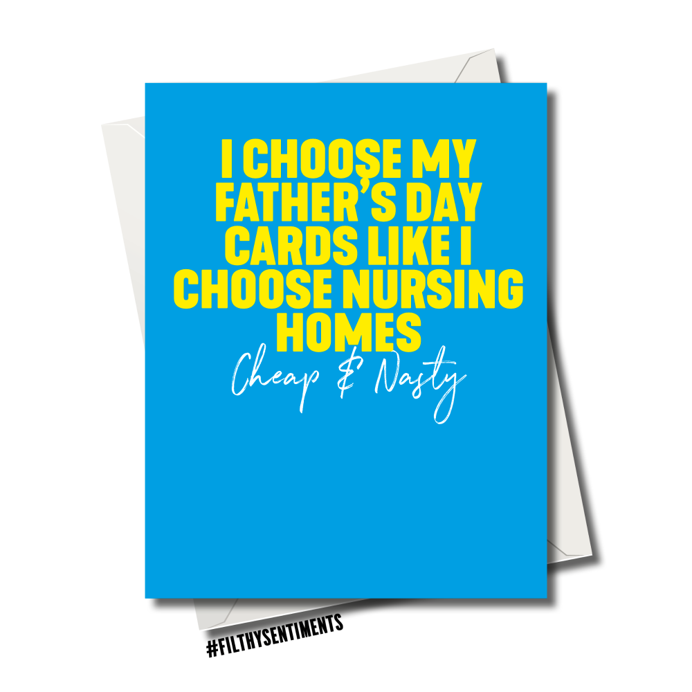 FATHER'S DAY NURSING HOME CARD