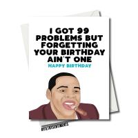 JAY Z BIRTHDAY CARD FS1148